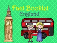 This fact booklet on England is a great resource to use for a research project on countries around the world/Europe with your pre-k/kindergarten class. Included in this product is a black and white informational book about England that can be used for independent reading as well as for guided reading groups.