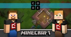 Minecraft Designer - Hour of Code  Program animals and other Minecraft creatures.