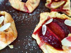 Easy Fig and Plum Mini Galettes