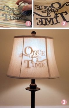 Not only are these lampshades adorable decorations for book lovers, but they're functional too! http://writersrelief.com/