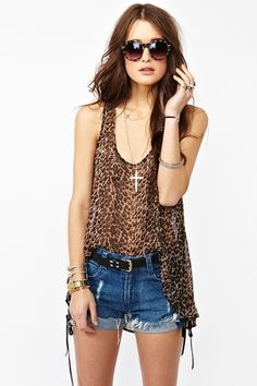 Wild One Tank  http://www.nastygal.com/whats%2Dnew/wild%2Done%2Dtank?utm_source=pinterest_medium=smm_campaign=pinterest_nastygal