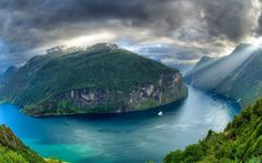 #Awesome #view of  #Geirangerfjord situated in #Norway