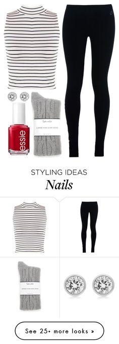 """""""relax"""" by bradey-5 on Polyvore featuring WearAll, Splendid, NIKE, Essie and Michael Kors"""