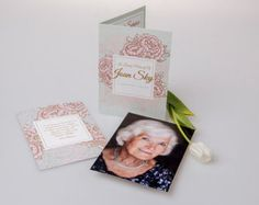 Made-to-order Printed Funeral Programs A5 por ForeverYoursNZ