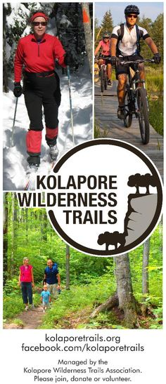 Kolapore Wilderness Trails Association - Maps Wilderness Trail, Outdoor Fun, Maps, Baseball Cards, Blue Prints, Map, Cards