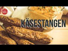 Käsestangen - glutenfrei und Low Carb
