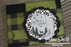 7 Days of Holiday Catalog Sneak Peeks - Day 4! Stampin' Up! Merry Little Labels Christmas Card Idea