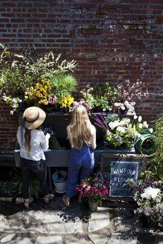 grayskymorning:  Kinfolk Magazine's Flower Pot-Luck with Amy Merrick
