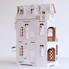 Villa+Cartabianca+nr+9+Cardboard+house++from+Paper+Imagination+by+DaWanda.com