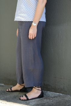 Tamiko Pant Pattern - Tessuti Fabrics