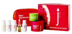 Mummy To Be Juice Pack $120RRP AU Help prepare a healthy mummy to be with a box of juicy love! Containing: Mummy's Tummy stretch mark prevention cream, satisfying pregnancy skin's moisture cravings. Melt sore muscles with skin saving Green Juice balm, perfect for a soothing baby massage or foot rub . Mini Squeeze Travel Pack packed with all the juicy goodness the skin needs without artificial flavours. Includes Skin Juice signature cleanser, juice, moisturiser, night serum and exfoliant. Moisturiser, Cleanser, Skins Mini, Mummy Tummy, Prevent Stretch Marks, Healthy Mummy, Soothing Baby, Baby Massage, Sore Muscles