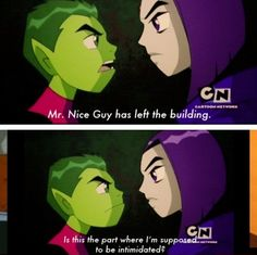I loved how in this episode (beast within) beastboy finally stuck up for himself it was awesome