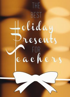 Holiday Gifts for Teachers! | Yankee Smartass