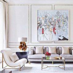 Living room design luxury living room design ideas with neutral color palette home decor 10 Interior Design London, Classic Interior, Home Interior, Interior Decorating, Luxury Interior, Decorating Ideas, English Interior, Interior Colors, Decoration Inspiration