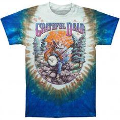 Grateful Dead Banjo Tie Dye T-shirt