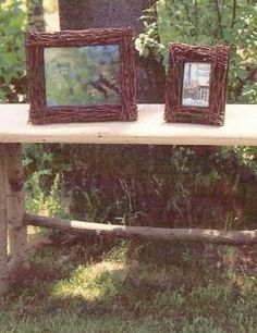 This easy craft idea uses tree branches to turn a plain picture frame into a work of art. Use the fininshed frame in your own home or give it to someone as a gift. Birch Branches, Birch Bark, Easy Crafts, Diy And Crafts, Arts And Crafts, Diy Projects To Try, Craft Projects, Craft Ideas, Diy Ideas