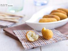 Receta de croquetas de queso variado.Receta con fotos del paso a paso y sugerencias de presentación.Trucos y consejos de elaboración.Recetas de aperitivos
