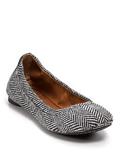 "Lucky Brand ""Emmie"" Ballet Flats  PRICE: $59.00"