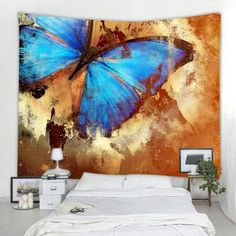 Butterfly Specimen 3D Printing Home Wall Hanging Tapestry for Decoration #wedding Price : $8.07 100 percent durable microfiber light weight fabric soft to the touchLightweight easy to hang or roll up and carry anywhereMachine washable no fading easy cleaningChoose from a wide variety of raw material prints and textures in ... Cheap Wall Tapestries, Tapestry Wall Hanging, Vintage Butterfly, Cool Walls, Home Textile, Wall Prints, Wall Decals, Brown