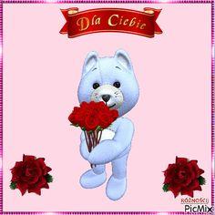 Good Morning Greetings, 3 Kids, Cute Bears, Beautiful Roses, Teddy Bear, How To Plan, Toys, Friends, Heart