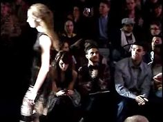 The Toronto rapper and singer Drake, is seen sitting front row at the Paul Hardy fall 2008 fashion collection. World MasterCard Fashion Week.