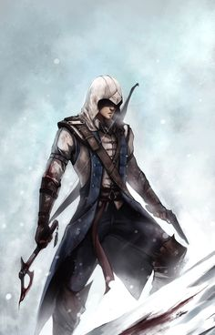 Explore the Assassin's Creed collection - the favourite images chosen by JessieRikudou on DeviantArt. Assassins Creed Series, Assassins Creed Unity, Assassin's Creed 3, Assasins Cred, Connor Kenway, Cool Artwork, Batman, Deviantart, Character Ideas