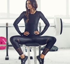 Boost your output in the gym with cool training clothes - buy the fashionablefit collection at nelly.com #onlinefashiongift