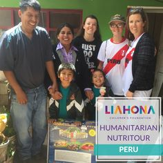 A Nutritour is a great opportunity to serve while exploring new destinations! Visit https://liahonachildren.org/how-to-help/nutritours to fill out an application today. #LiahonaChildren #Nutritour #Peru