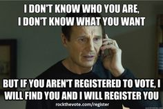 Pretty convincing! rockthevote.com/register