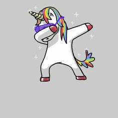 Dabbing Unicorn Shirt Dab Hip Hop Funny Magic Pink - NeatoShop Hahahaha, so lame, but I love unicorns enough to dismiss the Dab Real Unicorn, Unicorn Art, Magical Unicorn, Cute Unicorn, Rainbow Unicorn, Unicorn Emoji, Unicorn Drawing, Unicornios Wallpaper, Unicorn Pictures
