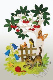 Bastelset Fensterbild Sommer Felt Diy, Felt Crafts, Diy And Crafts, Arts And Crafts, Paper Crafts, Welcome To School, Rainbow Room, School Decorations, Indian Home Decor