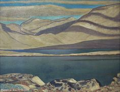 Unfinished Landscape, Greenland by Rockwell Kent on Curiator, the world's biggest collaborative art collection. American Realism, American Artists, Mountain Art, Mountain Landscape, Rockwell Kent, Digital Museum, Edward Hopper, Landscape Paintings, Landscapes
