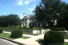 Architect Larry Boerder Designed Home in Highland Park Neighborhood - 4260 Bordeaux Avenue, Dallas, Texas