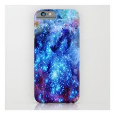 Galaxy iPhone & iPod Case ($35) ❤ liked on Polyvore featuring accessories, tech accessories, phone cases, tech and iphone & ipod cases