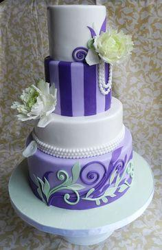 purple and beautiful