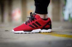 Adidas ZX Flux 'Poppy Red'