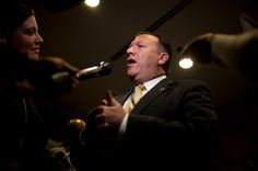 18 November 16 Mike Pompeo, Sharp Critic of Hillary Clinton, Is Trump's Pick to Lead C.I.A. - The New York Times