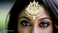 Teekas are a desi girl's version of tiaras. Don't be afraid to rock one every chance you get.