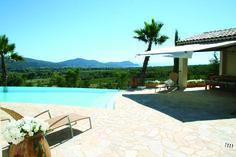 Prachtig uitzicht op de Franse wijnvelden