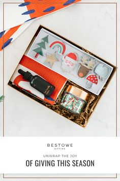 Bestowe curates unique, themed gift boxes for every person in your life using small-batch goods and wares from independent artisans. It's effortless and always elevated, at your fingertips, and at a perfect price. Click to shop now!