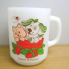 Strawberry Shortcake Pupcake mug cup