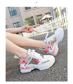 Women Multi Color Thick Sole Chunky Shoes Casual Platform Sneakers – kidenhome Source by women shoes Girls Sneakers, Vans Sneakers, Platform Sneakers, Girls Shoes, Sneakers Fashion, Fashion Shoes, Ladies Shoes, Fashion Top, Fashion Women