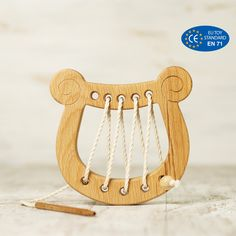 Wooden Montessori toys toddler Lyre Fine Motor Skills Wood Toys for Kids Toddler Gifts, Toddler Toys, Kids Toys, Perfect Image, Perfect Photo, Love Photos, Cool Pictures, Oil Age, Handmade Wooden Toys