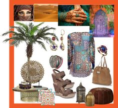 """""""Meet Me in Marrakech with UGG Australia"""" by mona1n ❤ liked on Polyvore"""