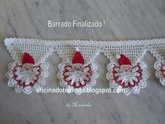 """OFICINA DO BARRADO: Croche - PAP de um novo """"Noel"""" Barrado"""