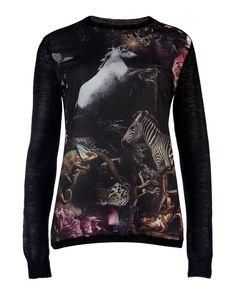 JUNAE - Unicorn print sweater