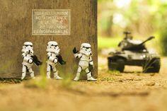 'Ambush'  #photography #stormtrooper #starwars #toys #zahirphotowork