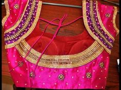 Simple Blouse cutting & sewing in hindi part1 - YouTube