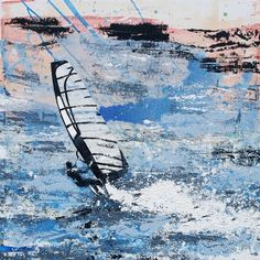 Melanie McDonald — Windsurfer - To infinity and beyond. Art print available.