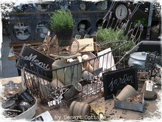 **My Desert Cottage**: French Marketplace at Sweet Salvage